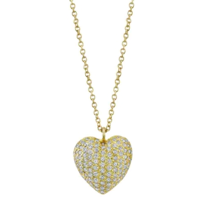 Joan Heart Pendant - #H-JOAN P