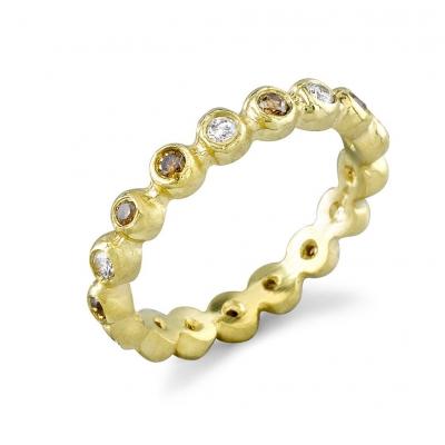 Aggie Diamond & Gold Rings - #Aggie