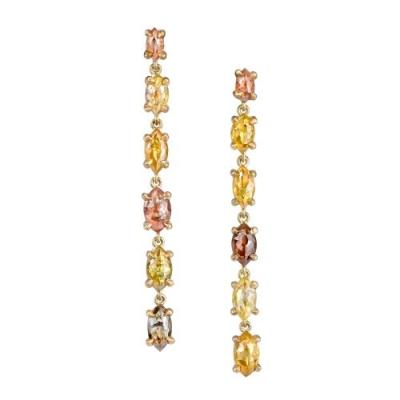 Terra 2 Rustic Diamond and 18K Earrings - #Terra 2 Earrings