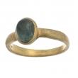 Sunset Green Tourmaline & Gold Ring - #SNR51711-1