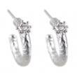 Sunray White Topaz & Silver Earrings - #SWE