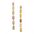 Terra Rustic Diamond and 18K Earrings - #Terra Earrings