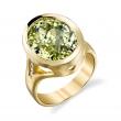 Stardrop Beryl & Gold Ring - #SRR101312-1
