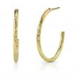 Sunshine Gold Disc and Diamond Earrings - #SSE MED